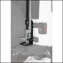 SmittyBilt Trail Jack Mount For 2007-18 Jeep Wrangler JK 2 Door & Unlimited 4 Door Models 2844
