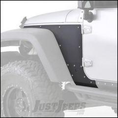 SmittyBilt XRC Front Armor Skins in Black For 2007-18 Jeep Wrangler JK 2 Door & Unlimited 4 Door Models 76980