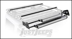 SmittyBilt Defender Rack Light Bar Mount Kit For 5' Wide Racks D8085