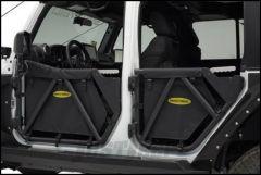 SmittyBilt SRC GEN2 Rear Tubular Doors For 2007-18 Jeep Wrangler JK Unlimited 4 Door Models 76795