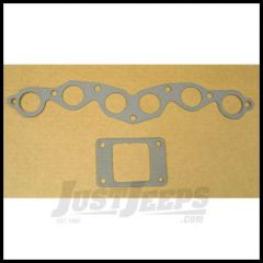 Omix-ADA Exhaust & Intake Manifold Gasket Set For 1945-53 Jeep M & CJ Series With 134 L-Head 17451.01