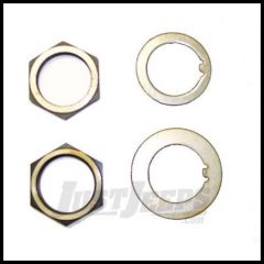 Omix-ADA Spindle Nut & Washer Kit For 1941-47 Jeep CJ2A, Willys MB, 1946-86 CJ Series 16710.01