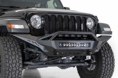 ADD Offroad Stealth Fighter Full Length Front Bumper with Hoop for 18+ Jeep Wrangler JL & 20+ Gladiator JT (Non-Rubicon Models) F9617JT-