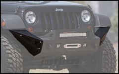 Addictive Desert Designs Stealth Fighter Large Side Pods With KC HiLiTeS Logo For 2007-18 Jeep Wrangler JK 2 Door & Unlimited 4 Door Models F951261280103