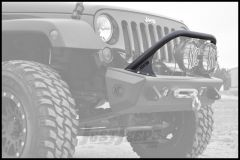 "Addictive Desert Designs Stealth Fighter Standard Top Hoop In Black for 8"" Lights For 2007-18 Jeep Wrangler JK 2 Door & Unlimited 4 Door Models F9513710001NA"