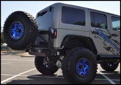 Addictive Desert Designs Stealth Fighter Tire Carrier For Stealth Fighter Rear Bumper For 2007-18 Jeep Wrangler JK 2 Door & Unlimited 4 Door Models T95912NA01NA