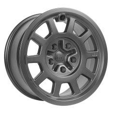 AEV Salta Wheels 17 x 8.5 Onyx For 2007-18 Jeep Wrangler JK 2 Door & Unlimited 4 Door +10mm offset 20403016AB