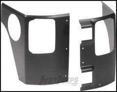 AEV Rear Corner Guards For 2007-18 Jeep Wrangler JK Unlimited 4 Door 10303014AA