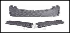 AEV Heat Reduction Hood Replacement Mesh Inserts In Stainless Steel For 2007-18 Jeep Wrangler JK 2 Door & Unlimited 4 Door 40303011AA