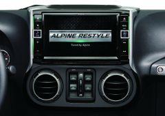 Alpine 9 Inch X109-WRA In-Dash Restyle System For 2011-18 Jeep Wrangler JK 2 Door & Unlimited 4 Door Models X109-WRA