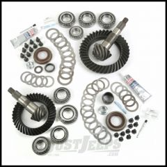 Alloy USA Front & Rear Ring & Pinion 4.10 Gear Ratio Kit For 2007-18 Jeep Wrangler & Wrangler Unlimited JK Non-Rubicon Models With Front Dana 30 Axle 360002