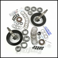 Alloy USA Front & Rear Ring & Pinion 5.13 Gear Ratio Kit For 2007-18 Jeep Wrangler & Wrangler Unlimited JK Rubicon Models With Front Dana 44 Axle 360007