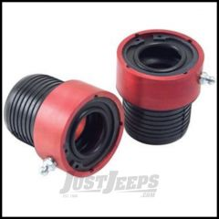 Alloy USA Axle Tube Seals Red For 1984-06 Jeep Models With 27 Spline Dana 30 Front Axles 11102
