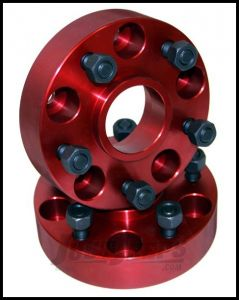 "Alloy USA 1.25"" Wheel Spacer Kit For 1984-06 Jeep Wrangler YJ, TJ Models & Cherokee XJ With 5x4.5"" Bolt Pattern 11301"