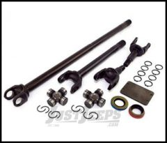 Alloy USA Front Grande 30 Spline Chromoly Axle Kit For 1984-95 Jeep Cherokee XJ & Wrangler YJ with Dana 30 Axle With Upgraded 30 Spline Differential 12131