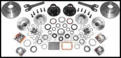Alloy USA Front Manual Locking Hub Conversion Kit For 1992-06 Jeep Wrangler TJ, Cherokee XJ & Grand Cherokee ZJ with Dana 30 Axle 12195