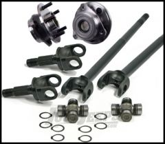 Alloy USA Front Grande 30 Spline Chromoly Axle Kit With Hub Bearings For 1984-95 Jeep Cherokee XJ & Wrangler YJ with Dana 30 Axle With Upgraded 30 Spline Differential 12231