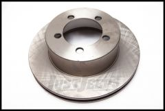 Alloy USA Front Manual Hub Conversion Brake Rotor For 1987-06 Jeep Cherokee XJ, Wrangler YJ & TJ Models 16702.13