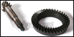 Alloy USA 4.56 Ring and Pinion Set For 2007-18 Jeep Wrangler JK Models With High Pinion Dana 30 Front Axle D30456RJK