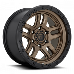 Fuel Off-Road D702 Wheel, 18x9 with 5 on 5 Bolt Pattern - Bronze / Black - D70218907550