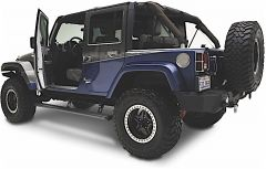 AMP Research PowerStep Running Boards For 2007-18 Jeep Wrangler JK Unlimited 4 Door Models 75122-01A