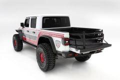 AMP Research BedXTender HD Sport Truck Bed Extender (Black) For 2020+ Jeep Gladiator JT 4 Door Models 74833-01A