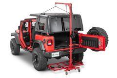 Lange Originals Hoist-A-Top Hardtop Removal System Gen 2 Crank Style For 2007+ Jeep Wrangler JK & JL 2 Door & Unlimited 4 Door 014-GEN2