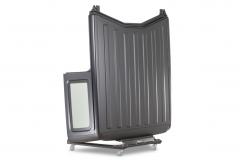 Quadratec QJW-JL-HTC Deluxe Heavy Duty Hardtop Storage Cart for 07-20 Jeep Wrangler JL & JK 12020.3001
