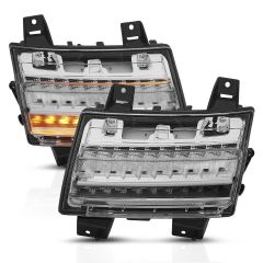 Anzo USA L.E.D. Parking Light with Sequential Turn Signal for 18+ Jeep Wrangler JL, JLU 51108-