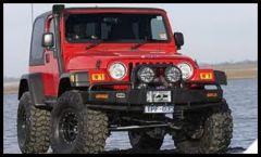 ARB Bull Bar Front Winch Bumper For 1997-06 Jeep Wrangler TJ & TLJ Unlimited Models 3450070