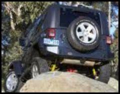 ARB Rockbar Rear Bumper For 2007-18 Jeep Wrangler JK 2 Door & Unlimited 4 Door Models 5650200