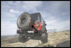 ARB Rear Swing Away Tire Carrier For 1997-06 Jeep Wrangler TJ/TLJ Unlmited Models 5750012