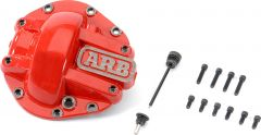 ARB Competition Differential Cover for Rear M220 Axle in Red For 2018+ Jeep Gladiator JT & Wrangler JL Unlimited 4 Door Models (Rubicon) 0750012
