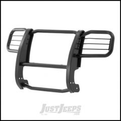Aries Automotive Grille Guard In Black For 2002-04 Jeep Liberty KJ Excluding Renegade 1045