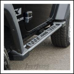 Aries Automotive Rocker Steps In Textured Powdercoated Black For 2007-18 Jeep Wrangler JK 2 Door Models 2074100
