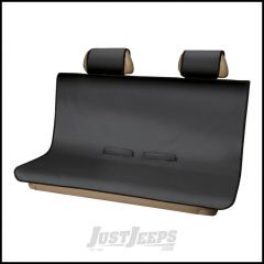Aries Automotive Seat Defender Bench / Rear Seat Protector In Black For Universal Applications 3146-09