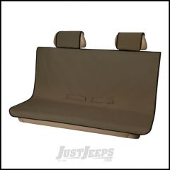 Aries Automotive Seat Defender Bench / Rear Seat Protector In Beige For Universal Applications 3146-18