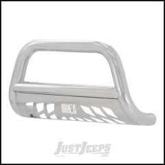 "Aries Automotive 3"" Bull Bar In Polished Stainless Steel For 2008-10 Jeep Grand Cherokee WK Models 35-1002"