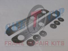 Auto Rust Technicians Skid Plate Repair Kit 97-02 TJ Wrangler ART-175