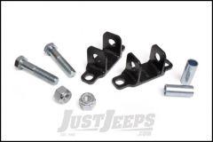Rough Country Rear Shock Upper Bar Pin Eliminator Kit For 1997+ Jeep Wrangler TJ, TJ Unlimited, JK & JK Unlimited 1089