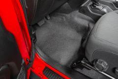 BedRug BedTred Premium Molded 2 Piece Front Floor Kit For 2018+ Jeep Wrangler JL 2 Door Models BTJL18F2