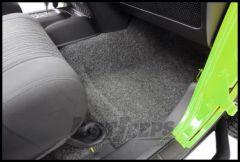 BedRug Front 4 Piece Floor Kit With Heat Shield For 2007-18 Jeep Wrangler JK Unlimited 4 Door Models BRJK07F4