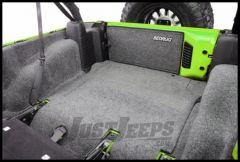 BedRug Rear 5 Piece Cargo Kit Includes Tailgate & Tub Liner For 2007-10 Jeep Wrangler JK Unlimited 4 Door Models BRJK07R4