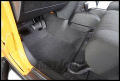 BedRug BedTred Front 3 Piece Floor Kit In Charcoal For 2007-10 Jeep Wrangler JK 2 Door Models BTJK07F2