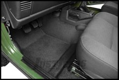 BedRug BedTred Front 3 Piece Floor Kit For 2011-18 Jeep Wrangler JK 2 Door Models BTJK11F2