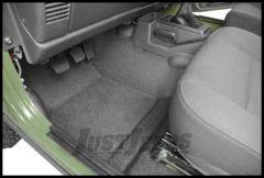 BedRug BedTred Floor Liner Front (3 Piece) For 1997-06 Jeep Wrangler TJ BTTJ97F