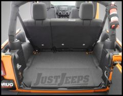 BedRug BedTred Rear 5 Piece Cargo Kit Includes Tailgate & Tub Liner For 2007-10 Jeep Wrangler JK 2 Door Models BTJK07R2