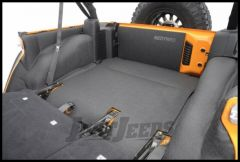 BedRug BedTred Rear 5 Piece Cargo Kit Includes Tailgate & Tub Liner For 2007-10 Jeep Wrangler JK Unlimited 4 Door Models BTJK07R4
