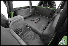 BedRug BedTred Rear 5 Piece Cargo Kit Includes Tailgate & Tub Liner For 2011-18 Jeep Wrangler JK 2 Door Models BTJK11R2