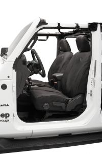 BESTOP Front Seat Covers For 2018+ Jeep Gladiator JT & Wrangler JL Unlimited 4 Door Models 29290-